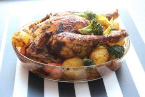 Menu de pâques à base de poulet facile à réaliser